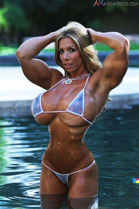 female breast and muscle morph picture 2