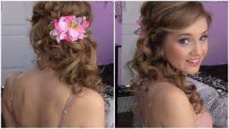 elegant medium length wavy hair down picture 5