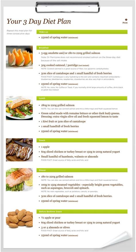 3 day salmon diet picture 2