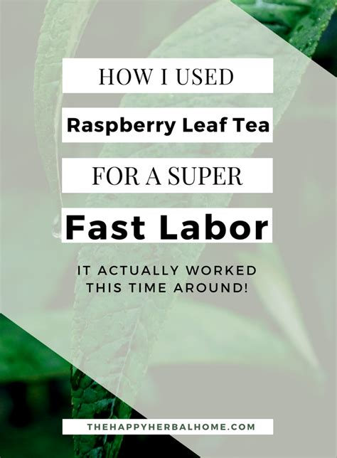 does red raspberry leaf tea induce labor picture 14
