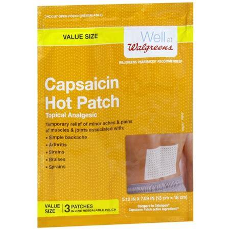 capsaicin hot patch picture 2