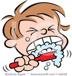 brushing teeth clipart picture 5