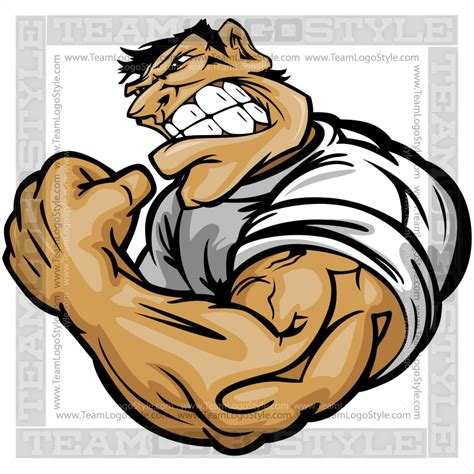 clip art pictures of muscle men is picture 1