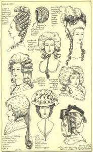 english hair 1700s picture 5