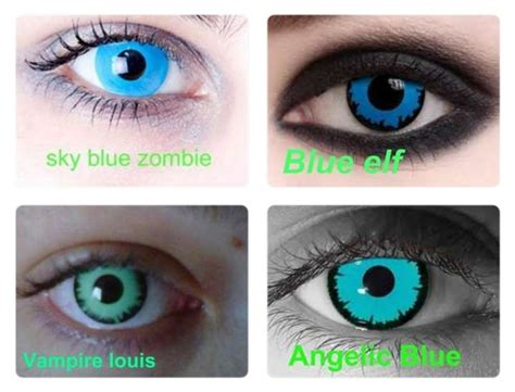 coloured contact lens non prescription picture 2