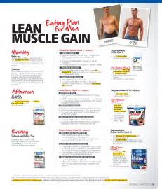 diet for increasing lean muscle picture 5