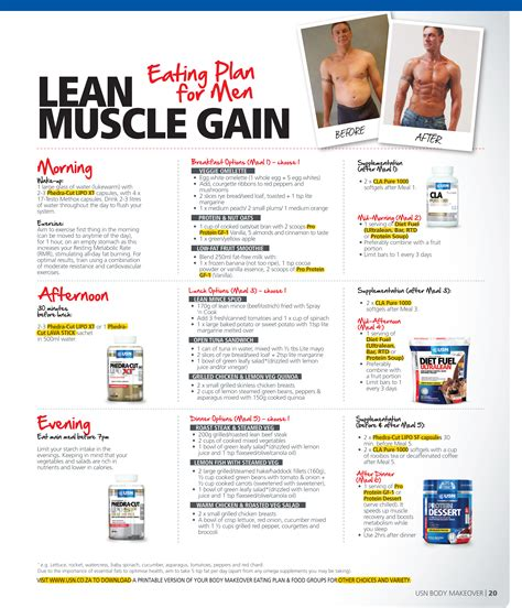 gaining lean muscle picture 9