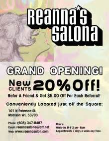 ideas for hair salon grand opening picture 1