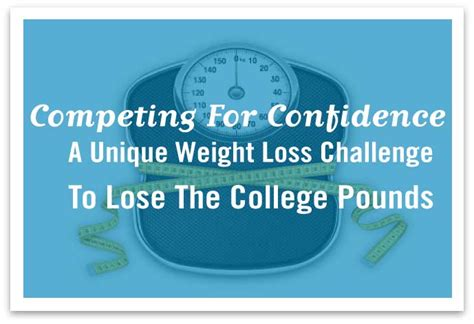 college weight loss competition picture 1