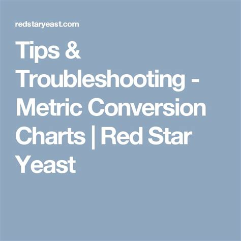 red star yeast conversion chart picture 10