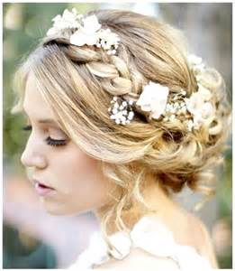 bridal hair styles with flowers picture 9