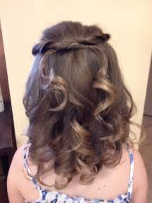 hairstyles for communion short hair picture 11