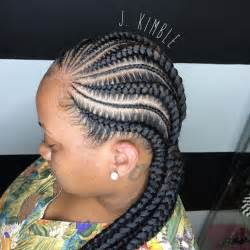 pictures of feed-in cornrow hairstyles picture 1