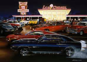 muscle car art picture 1