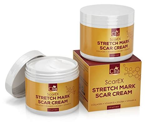 stretch mark & scar cream - reduces old picture 2