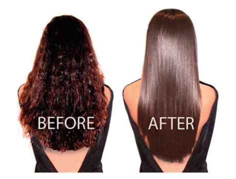 chemical hair straightening picture 5