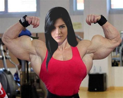 female super muscle morph picture 15