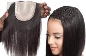 flat hair weave technique picture 9