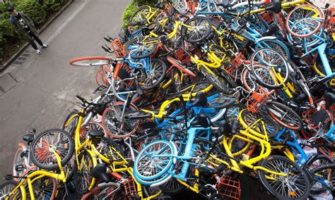bicycle piles picture 5