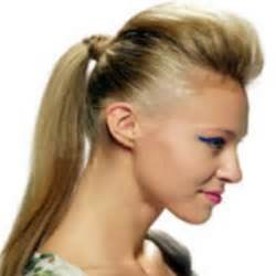pony tail hair tstyle picture 10