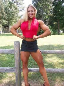 is a female bodybuilder more muscular then colette picture 11