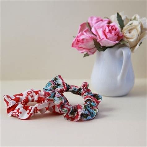 sewing patterns for hair scrunchies picture 1