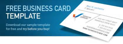 free template business cards online picture 1