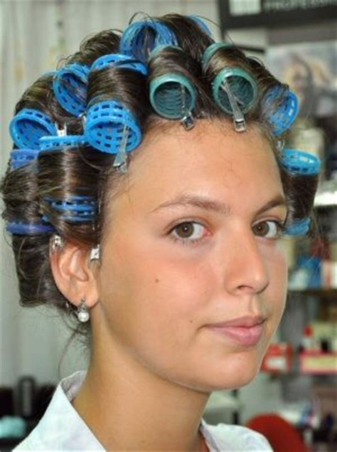 women who like curling crossdressers hair on rollers picture 14