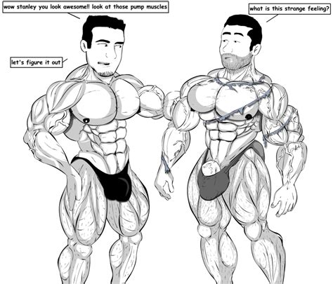 fictional male muscle growth stories picture 11