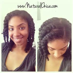 natural vs. relaxed hair picture 14