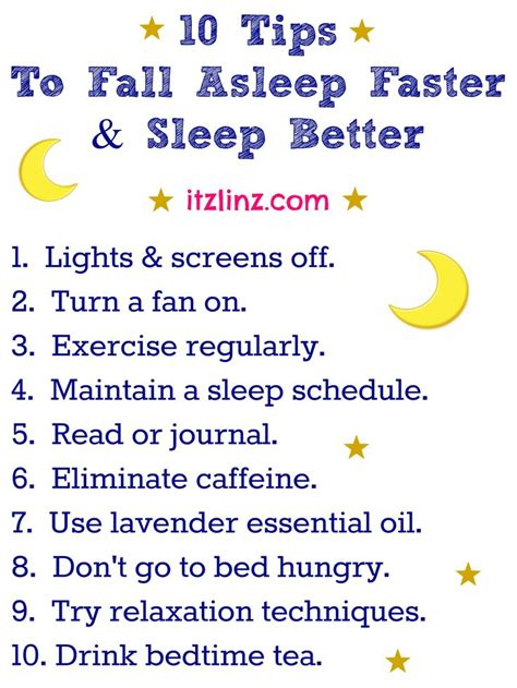 falling asleep tips picture 2