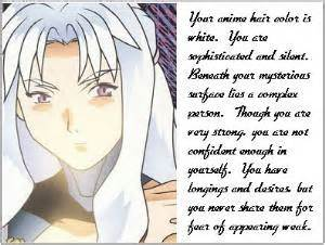 anime hair color quiz picture 3