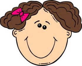 curly hair clipart picture 7