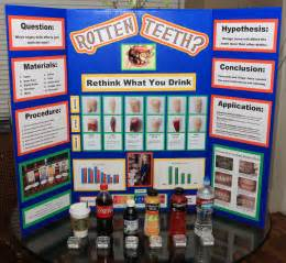 science fair project which beverage stains h the picture 2