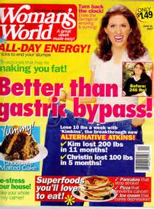 article on rice diet in woman's world magazine picture 5