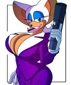 rouge the bat breast expansion picture 1