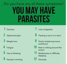 symptoms of intestinal parasites picture 1