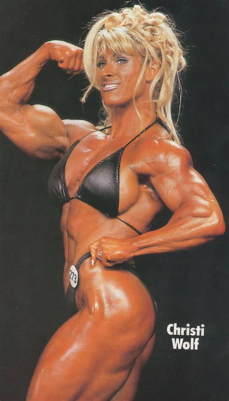 women bodybuilding wrestling picture 3