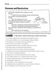 colon grammar worksheets picture 15