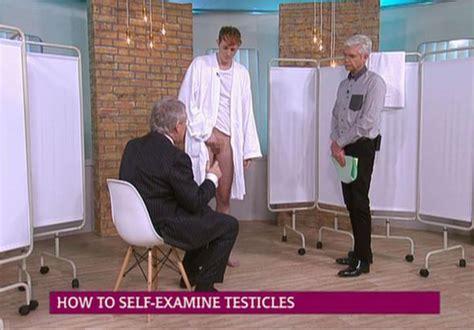 female doing testicular exam picture 3