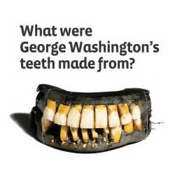 george washington's false teeth picture 7