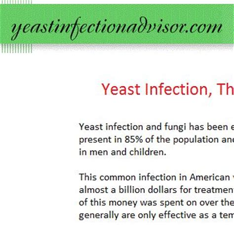 what happens if a yeast infection is not picture 5