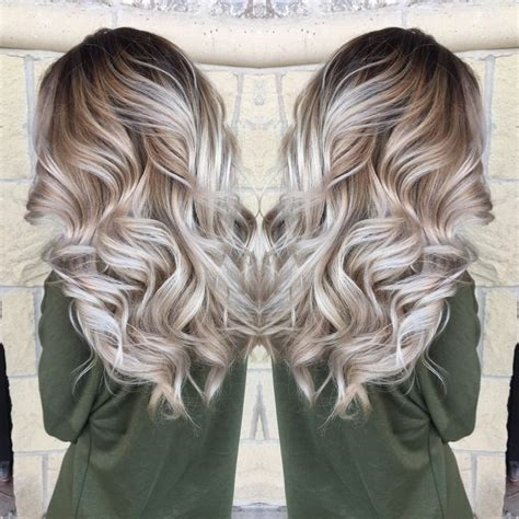girls pure blonde color hair picture 1
