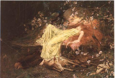 romantic paintings of sleeping women picture 11