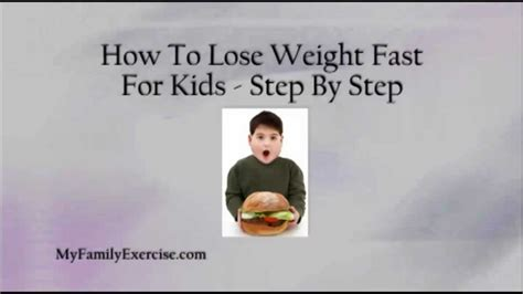 weight loss for children picture 17