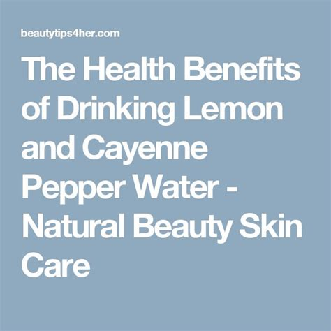 skin care recipes diets with cayenne pepper picture 9
