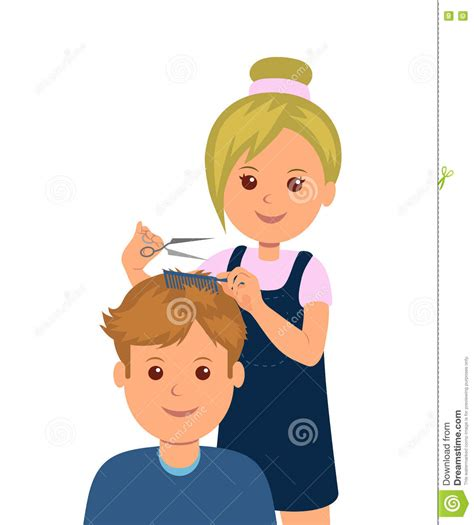 art of hair cuting damad picture 15