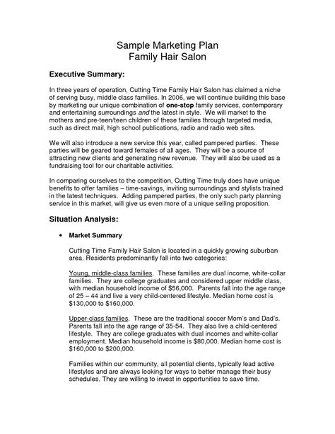 free online hair salon business plans picture 12