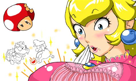 princess rosalina breast inflation picture 3