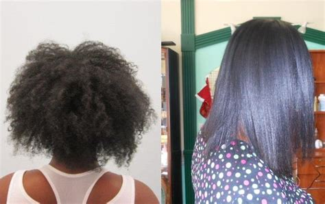 keratin complex hair straightening afro hair picture 7